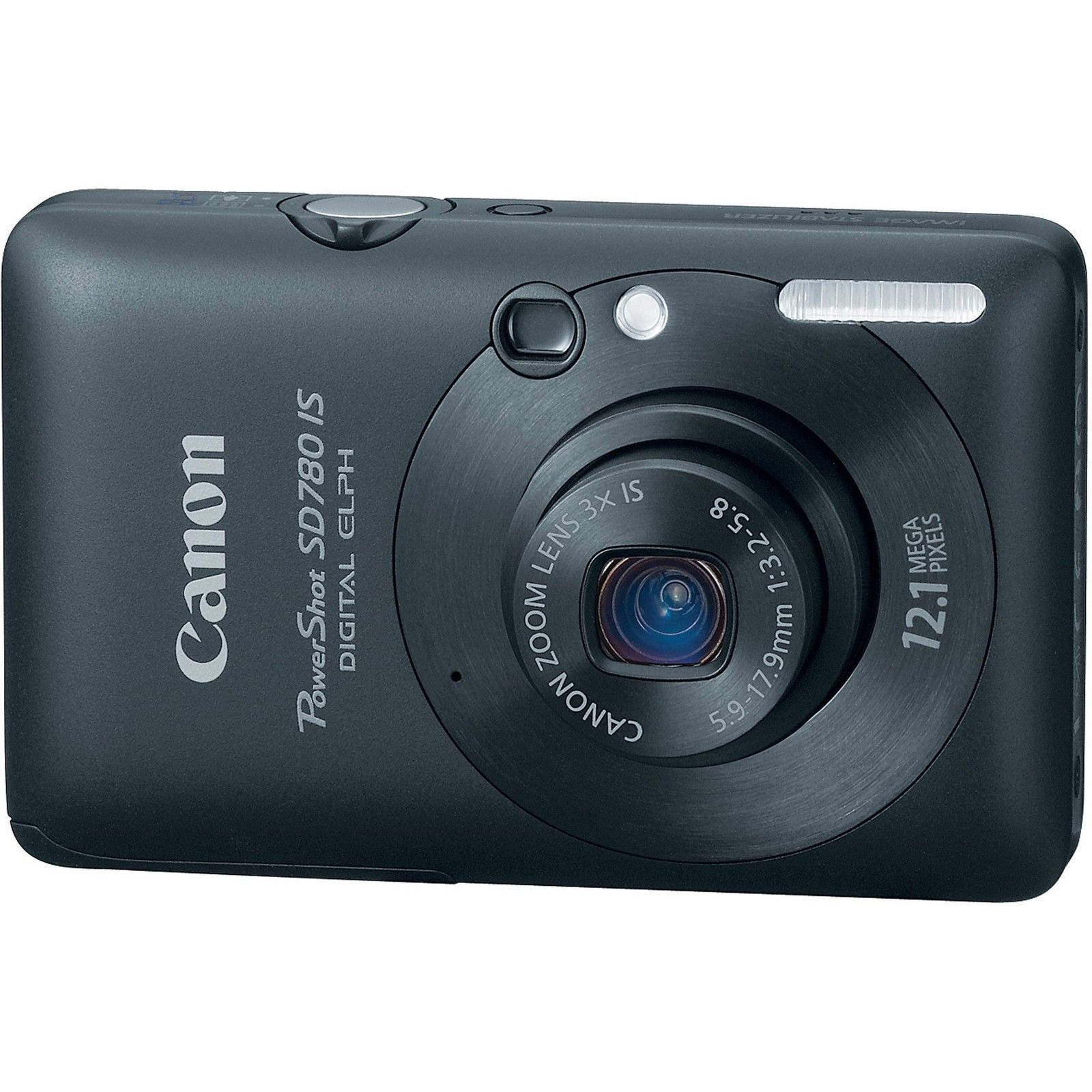 Canon PowerShot Digital ELPH SD780 IS / Digital IXUS 100 IS 12.1MP Digital  Camera - Black | eBay