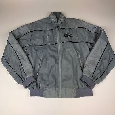 Vintage Coors Light Racing Silver Bullet Jacket - Size M/L - Ships FREE ()