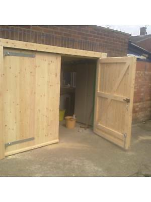 Custom Made To Measure Timber Wooden Garage Door Gates - BARN DOORS