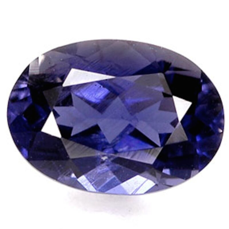 Genuine Natural Iolite AAA Rated Oval Faceted Loose Gemstones (4x3mm - 9x7mm)