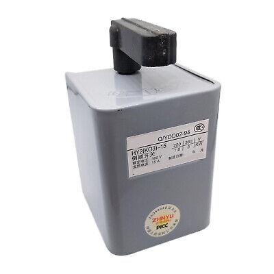 Us Stock Forward Reversing Drum Switch 15 Amp Hy2-15 380v-3kw220v-1.8kw
