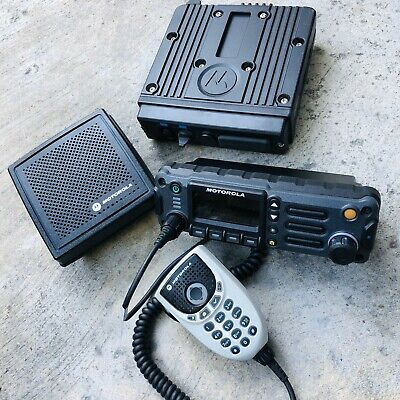 MOTOROLA APX4500 900 MHZ DIGITAL RADIO P25 TDMA BLUETOOTH GPS ADP for sale  Dixon