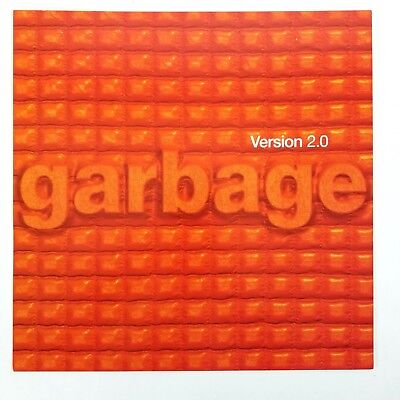 GARBAGE - Version 2.0 Album Cover Art Print Flat Poster 12 x 12