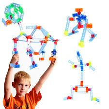 Brackitz Essential STEM Building Set: Kids Education Construction Building 88pc
