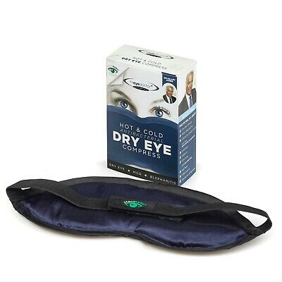 The Eye Doctor Essential Hot & Cold Dry Eye Compress Heat Bag -Sore Gritty Warm