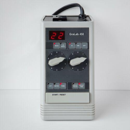 Tested Audible Model 450 Gralab Digital Darkroom Enlarger Timer