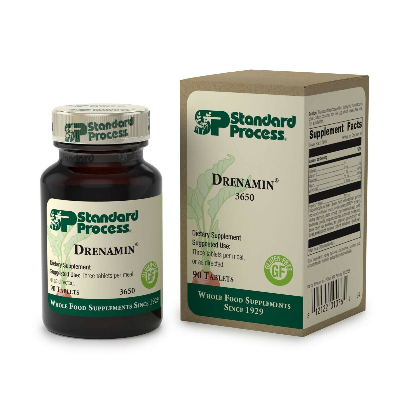 Standard Process - Drenamin - Supports Immune System Function, Energy Product...
