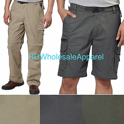 Bc Clothing Mens Convertible Stretch Cargo Hiking Active Pants Short Size Color