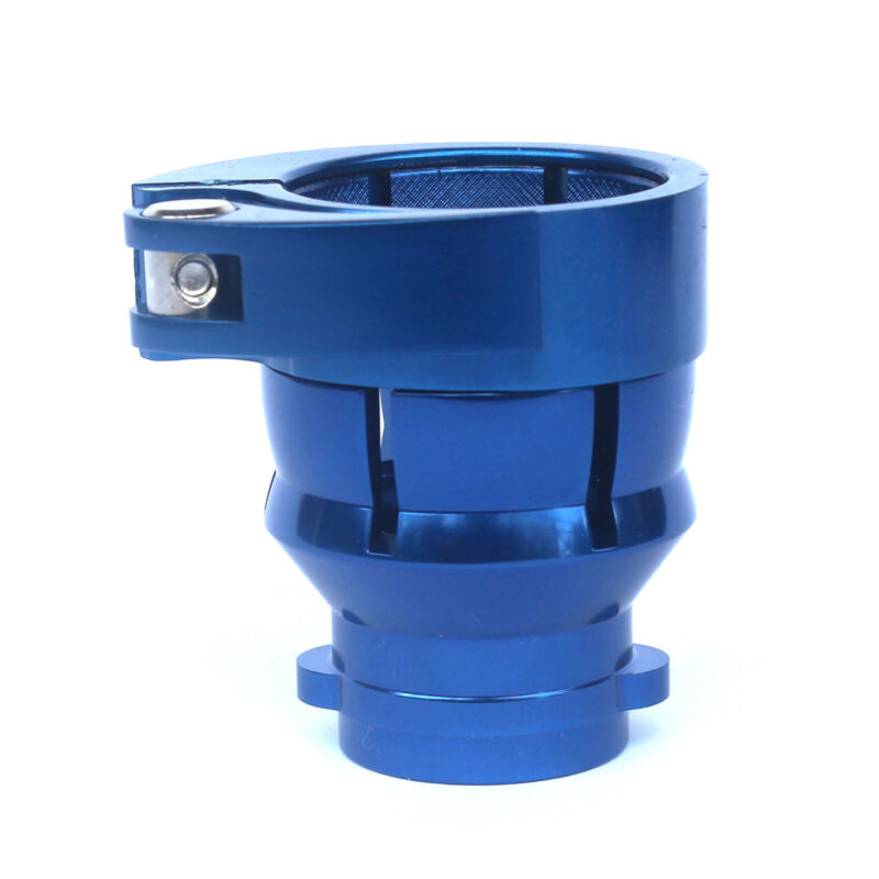 New -Spyder Clamping Feedneck Feed neck no holes The adjustable-bright blue