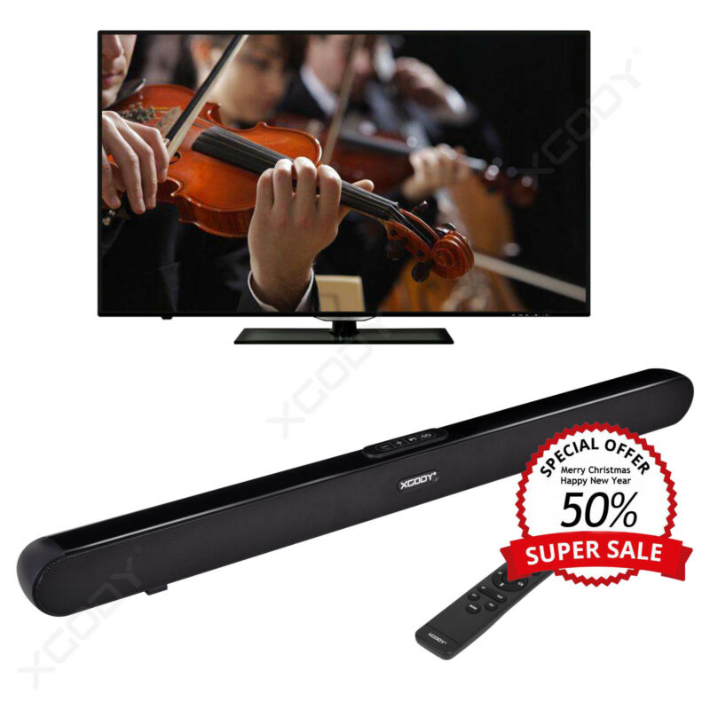 TV Speaker Soundbar Bluetooth Wireless Home Theater Sound Bar Coaxial Optical