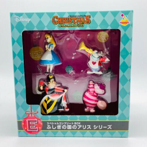 Disney Christmas Ornament Box Alice in Wonderland Figure Japan 2019 Cheshire Cat