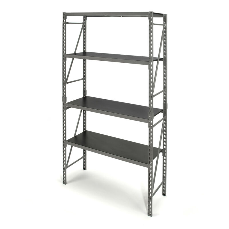 Steelman 75 in. 3 Shelf Storage Rack STR-4040