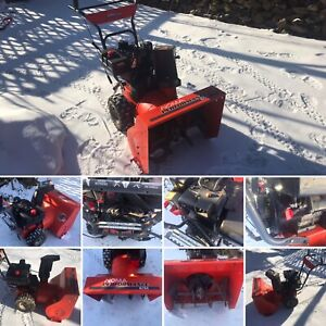 """Noma snowblower. 8hp 24"""" Auger. Electric start.  All tuned up"""