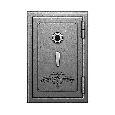 Second Amendment Fireproof Safe Storage for Gun Pistol Ammo w Dial Lock 30x20x20