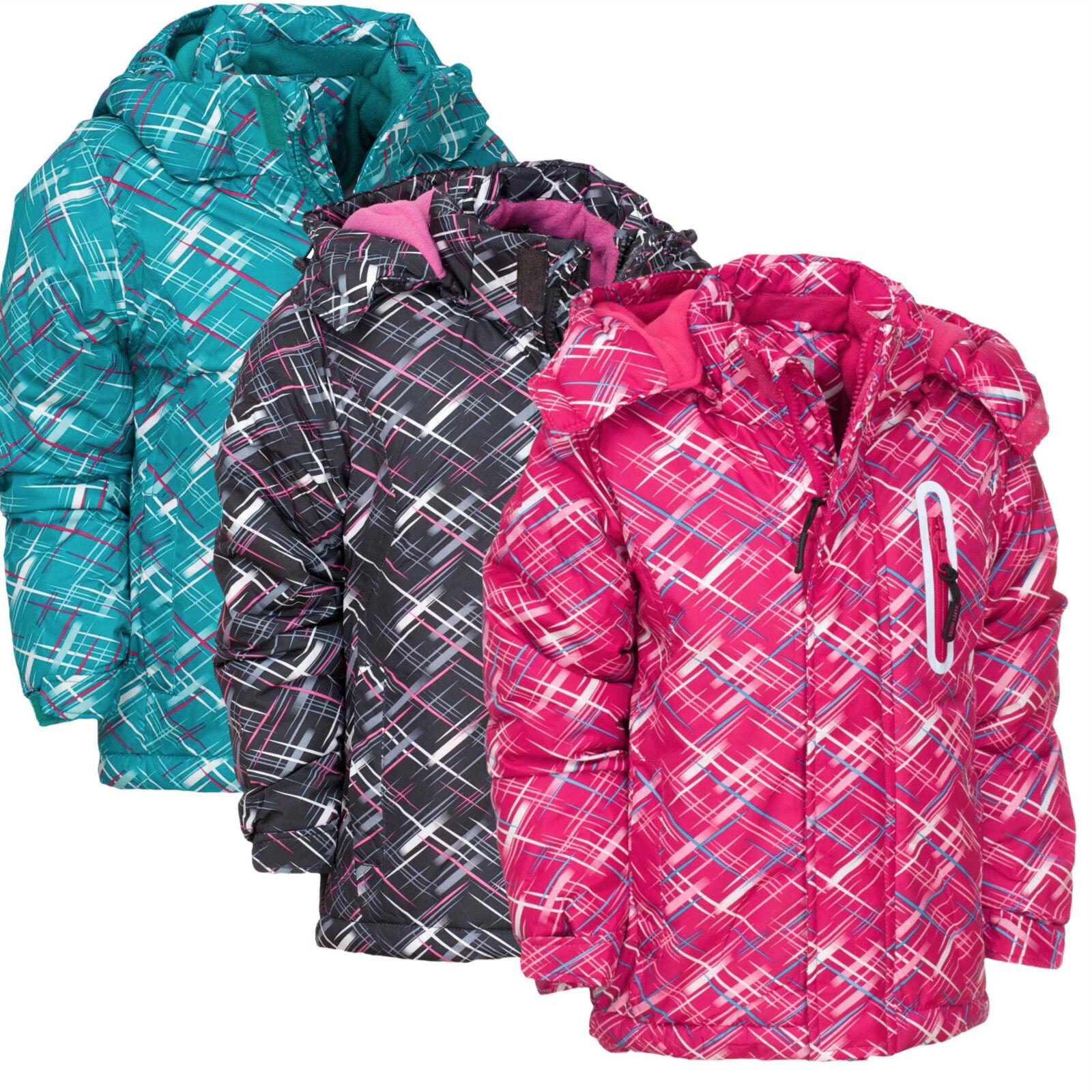Mädchen Winterjacke  Freizeitjacke Jacke mit Kaputze Outdoor gefüttert 110, 116