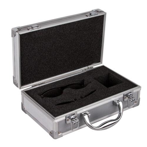 Aluminum Lock Case Hard Storage Carry Case Hand Safe Box