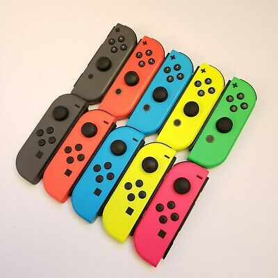 Low Prices! Nintendo Switch Joy Con Single Red Blue Yellow Pink Green Gray Used