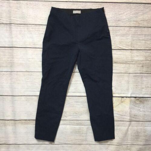 Everlane Size Zip Work Pant Size 12 Navy Blue Cott