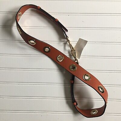 Michael Kors Shoulder Strap Orange Grommeted Replacement Purse Guitar NEW