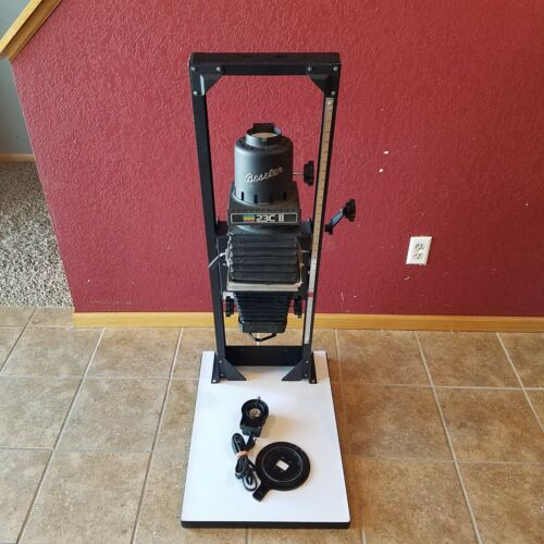 BESELER 23C II-XL Enlarger with Lens, Holder And Stand