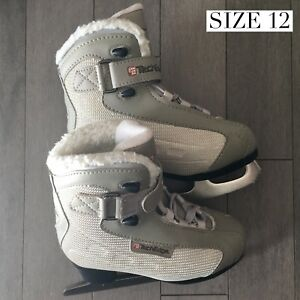Girls size 10 and 12 figure skates