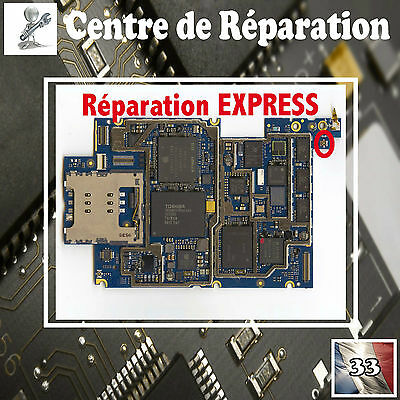 Réparation connecteur RESEAU ANTENNE iphone  3GS / Repair connector ( PRO )