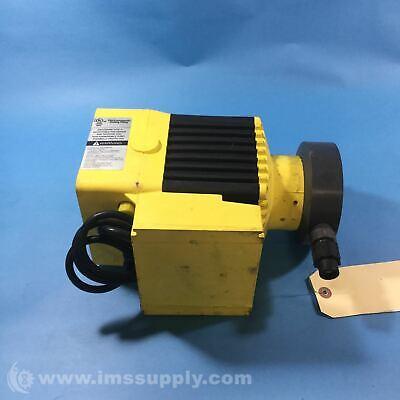 Milton Roy C731-26 Metering Pump 8 Gph 60 Psi 115 Vac Usip