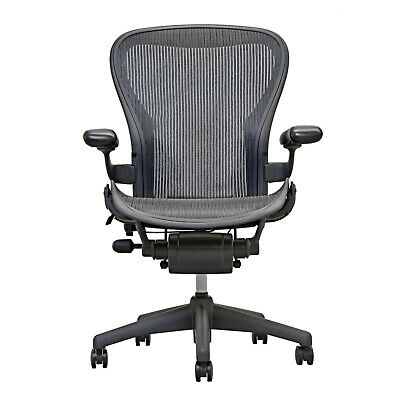 Herman Miller Aeron Mesh Office Desk Chair Medium Size B Basic Free Shipping