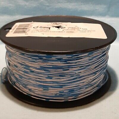 General Cable 7023708 Cross Connect Wire 242- Bluewhite Or - 1000 Ft. Or -