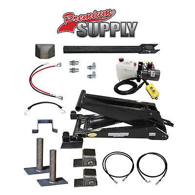11 Ton 22000 Lb Dump Trailer Hydraulic Scissor Hoist Kit Ph620 Power Hoist