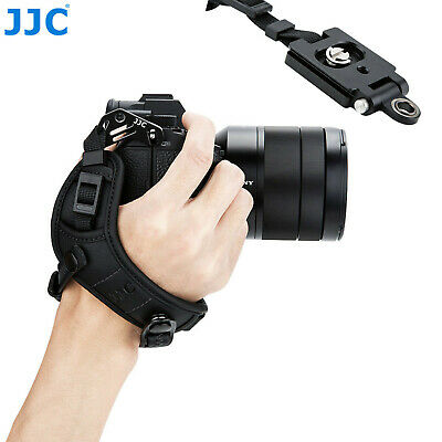 JJC Leather Hand Strap Grip Arca QR Plate for Sony a7 a7R a7S II III IV a6500 a9