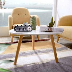 Digital Retro Quartz Desk Alarm Clock Flip Date & Day & Time Display Black