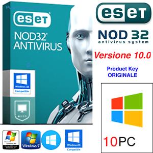 ESET-NOD32-Antivirus-10-PC-3-Years-ANNI-ORIGINALE-Product-Key-Fino-al-2020