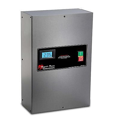 Rotary Phase Converter Panel - 15 Hp - Cnc Grade Industrial Grade Pc15plvpo