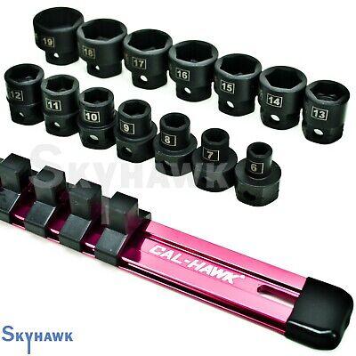 14 Pc 38 Drive Nano Or Low Profile Impact Socket Set Metric
