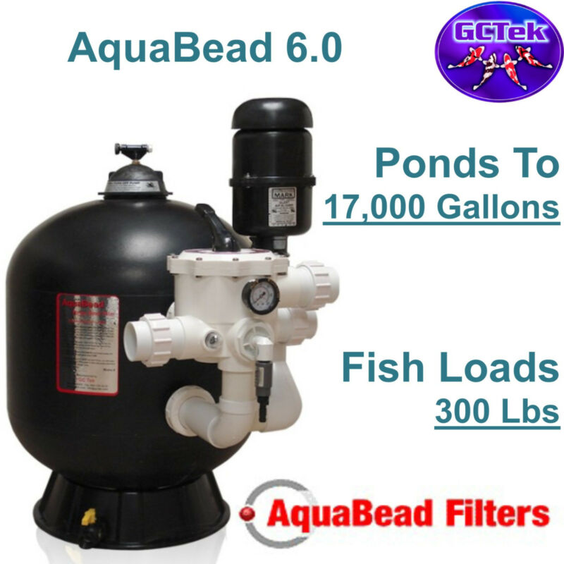 Gc Tek Aquabead 6.0 Bead Filter Ab6.0 For Ponds To 17,000 Gallons 300 Fish Load