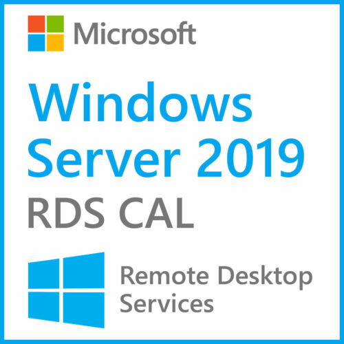 Win Server 2019 Remote Desktop Service User connections50 RDS CALs Product Key