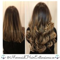 ✨♀️ MERMAID HAIR EXTENSIONS♀️ ✨ Book Today ✨