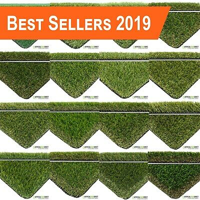Artificial Grass | 16 Ranges | Top Quality Realistic Luxury Fake Garden Lawn