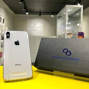 Great condition with Warranty iPhone X Silver 64G