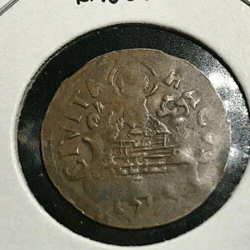 1797 ITALY RAGUSA SOLDO SCARCE COIN