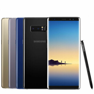 FULLY UNLOCKED Samsung Galaxy Note 8 64GB GSM+CDMA (SM-N950U) All Colors