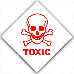 toxic sign and skulls - photo #9