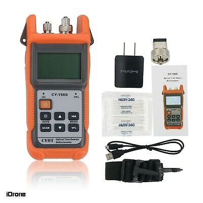 Optical Time Domain Reflectometer W Built-in Vfl For Sm Fiber 1310nm1550nm