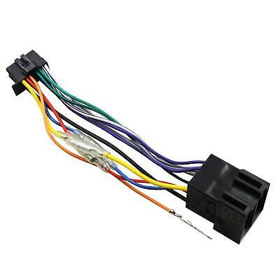 16 Pin for Pioneer DEH/MVH ISO Wiring Harness Connector Adaptor Lead Loom Cable