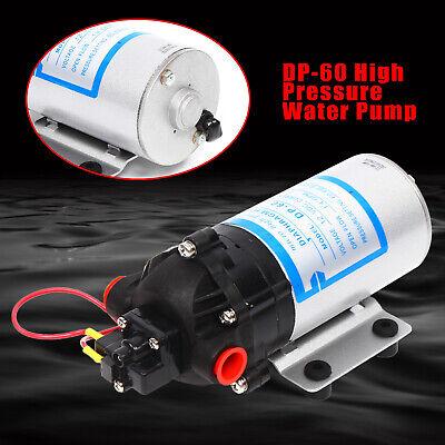 12v Water Pump 60psi Self Priming Pump Diaphragm High Pressure Automatic Switch