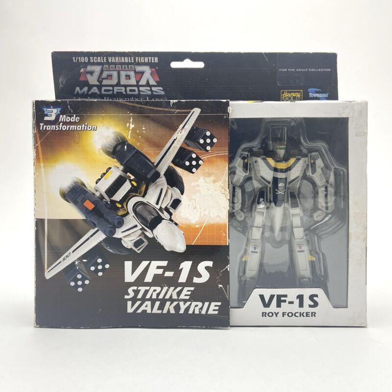 Macross DYRL VF-1S Strike Valkyrie Roy Focker 1/100 Rare Collectible Toy New NIB