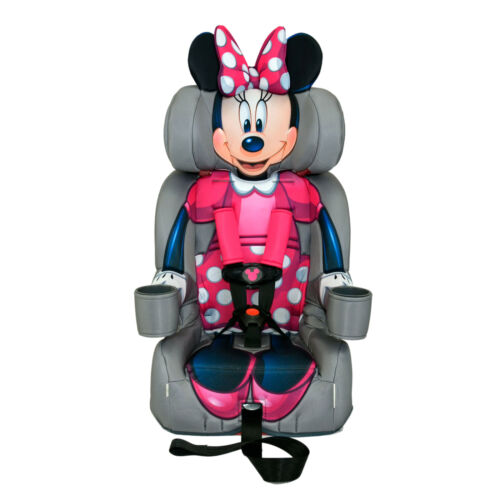 KidsEmbrace Forward-Facing Five-Point Harness Booster Car Seat, Minnie Mouse