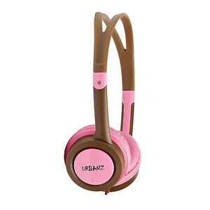 Urbanz VIBE Childrens Kids Girls Boys Over The Head DJ Style Headphones Headset