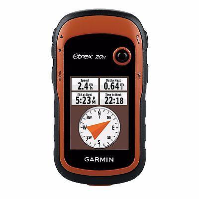 Garmin Etrex 20X Handheld Hiking Gps 2 2  Display   010 01508 00